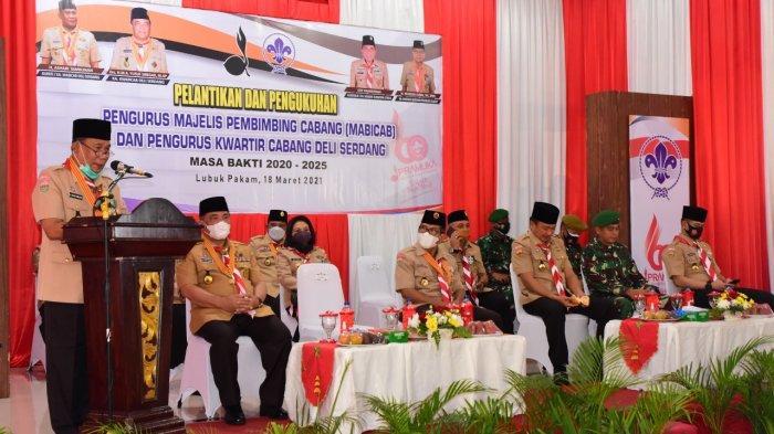 Bupati Ashari Tambunan Dilantik sebagai Ketua Mabicab Masa Bakti 2020-2025
