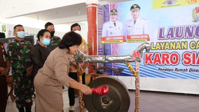 Pemkab Karo Launching Call Center Karo Siaga 112, Berikut Manfaatnya untuk Masyarakat