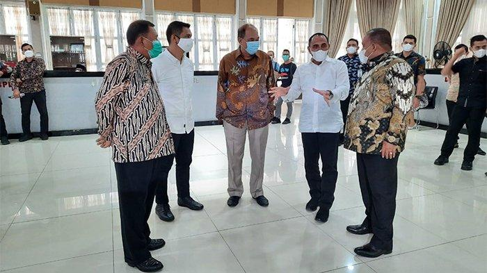 Hadiri Rakor Pencegahan Korupsi, Bupati Langkat Janji Terus Pertahankan Zona Hijau MCP KPK RI