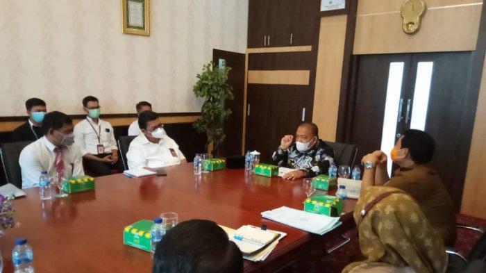 Eratkan Kordinasi Pembangunan, Bupati Terima Audensi BPN Langkat dan KPP Pratama Binjai