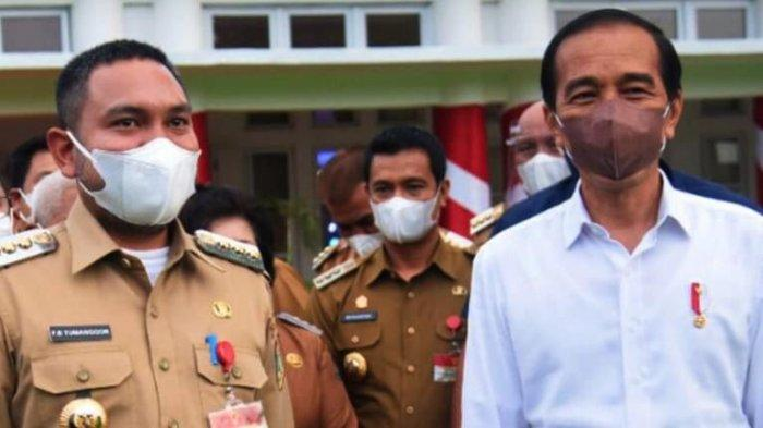 Presiden Joko Widodo Apresiasi Pakpak Bharat: Bagus Sekali Capai 82 Persen Vaksinasi Covid-19