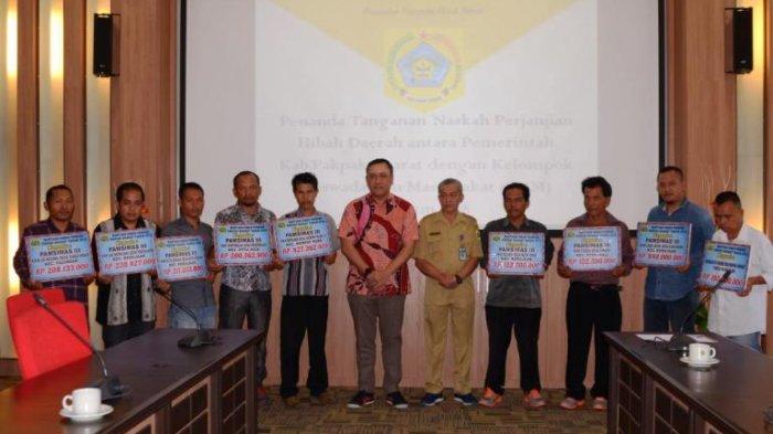 Tingkatkan Pembangunan Desa, Remigo Teken NPHD untuk Sembilan Kelompok Keswadayaan Masyarakat