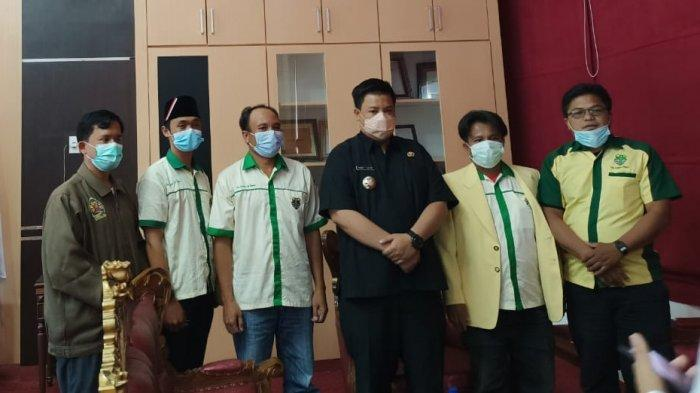 Bupati Vandico Gultom Ajak Pemuda Katolik Berkolaborasi Membangun Kabupaten Samosir