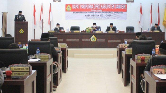 Pidato Perdana di DPRD, Vandiko Gultom: Hari Ini Penanda Awal Kebaikan dan Keadilan Rakyat Samosir