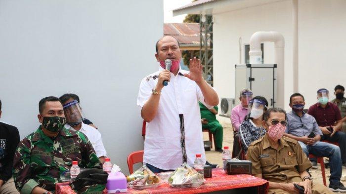 Kabupaten Taput Masuk PPKM Level 3, Bupati Taput Nikson Nababan Minta Camat Awasi Bantuan BST