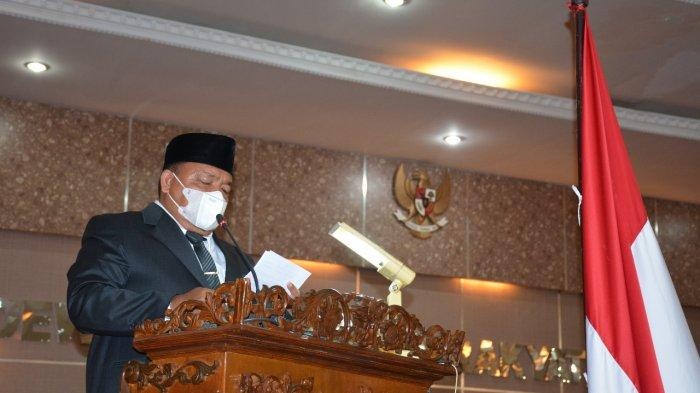 Kepada Ketua DPRD Langkat yang Baru, Bupati Terbit: Bangun Sinergitas dengan Forkopimda