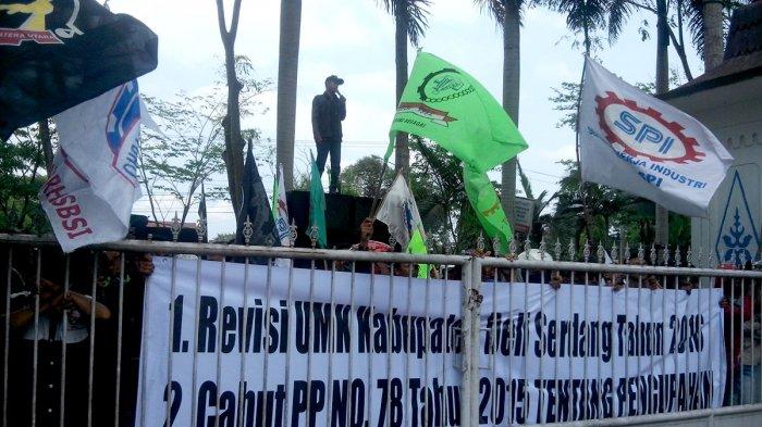 Gubernur Edy Rahmayadi Teken UMK Deliserdang Naik Rp 250 Ribu