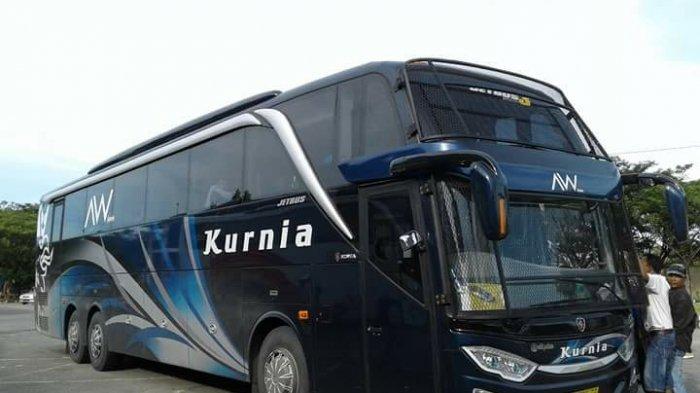 Dapat Stiker Khusus Perjalanan, Bus Kurnia Alami Lonjakan Penumpang hingga 100 Persen Jelang Lebaran