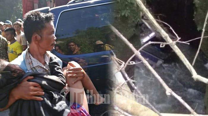 Bus Rombongan Pesta Terjun ke Jurang di Tobasa, Ini Foto dan Videonya