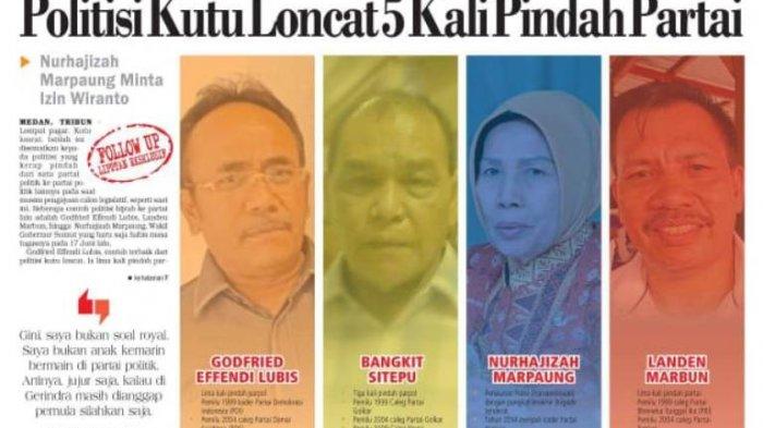 Politisi Kutu Loncat Suka Pindah Partai, Godfried Akui Tak Loyal, Nurhajizah Pamit ke Wiranto