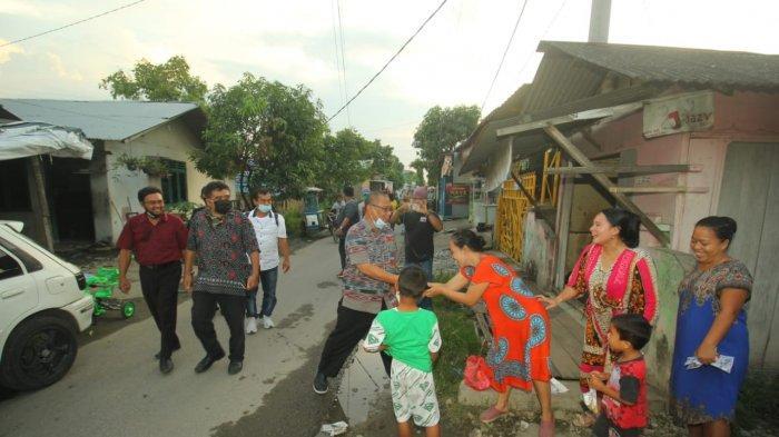 Akhyar Nasution Temui Warga Helvetia, Sampaikan Program Penyediaan Perlengkapan Fardhu Kifayah