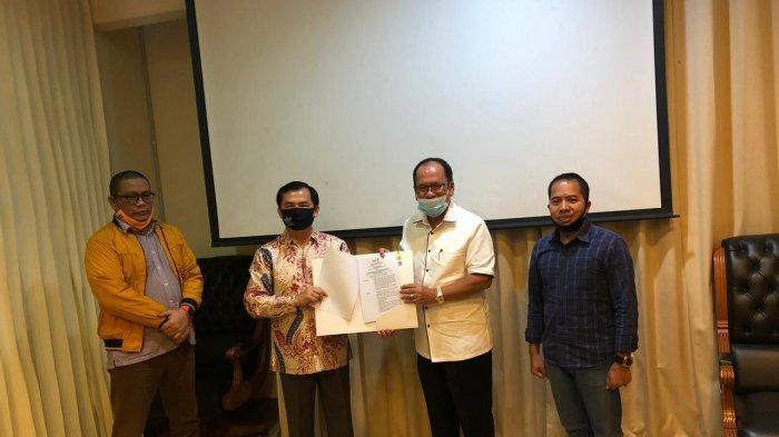 Pasangan Asner Silalahi - dr Susanti Penuhi Syarat Dukungan Parpol untuk Pilkada Siantar
