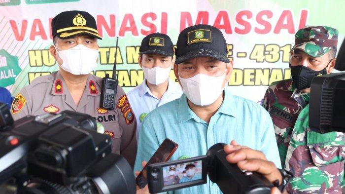 250 Warga Kurang Mampu di Medan Denai Mengikuti Vaksinasi Covid-19, Camat: Warga Juga Diberi Beras