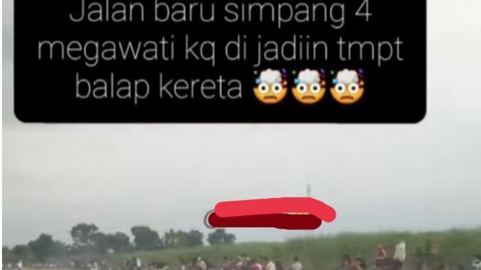 Warga Binjai Keluhkan Aktivitas Balap Liar di Jalan Megawati : Tolong Ditertibkan Pak