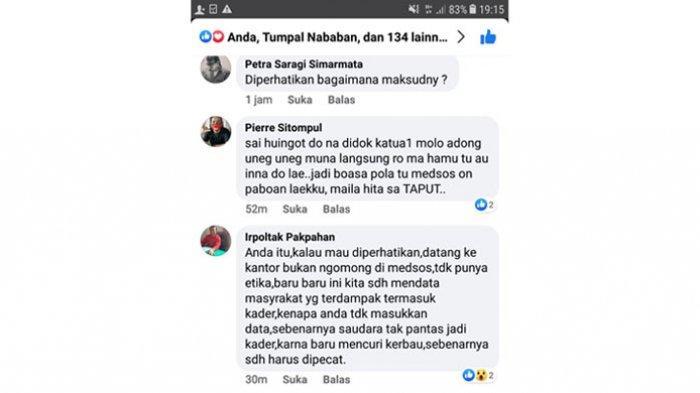 Tak Terima Dituduh Curi Kerbau Lewat Facebook, Kader PDIP Laporkan Ketua DPRD Taput ke Polres