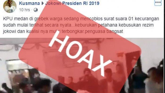 Video Hoax Surat Suara Tercoblos, KPU Medan Langsung Bereaksi Buat Laporan ke Polisi