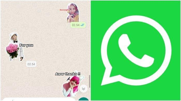 CARA MEMBUAT Stiker WhatsApp Lucu Pakai Foto Sendiri, Chat WA Lebih Menarik Tinggal Pilih Fotomu