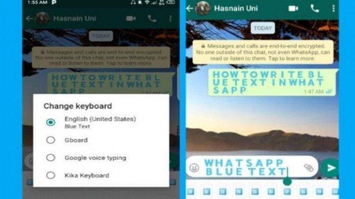 TRIK WHATSAPP - Cara Mengubah Warna Tulisan di Kolom Chat, Ikuti Langkah-langkah Berikut