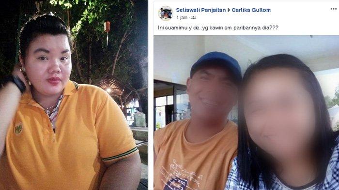 Viral Kisah Pilu Cartika Gultom, Suami Disebut Dinikahkan Mertuanya Lagi dengan Pariban