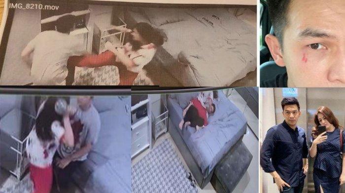 CCTV Ijonk jadi Korban KDRT Dhena Devanka