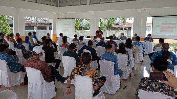 Pemkab Deli Serdang Rapat Bahas Pencegahan Covid-19 Bersama 34 Kades dan 12 Camat