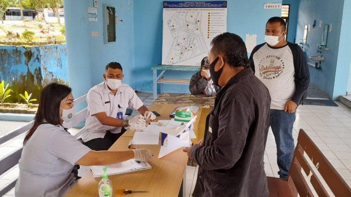 Dishub Provinsi dan BNN Tes Urin Sopir Bus di Terminal Tanjung Pinggir Siantar