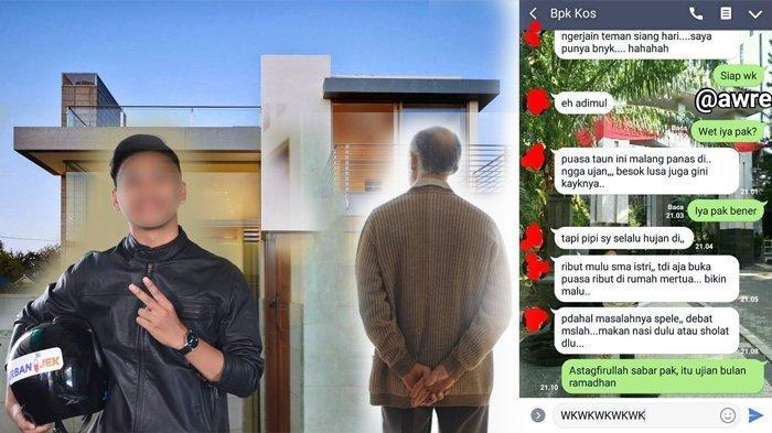 Usai Chatnya dengan Bapak Kos Viral, Ternyata Ini Sosok Adimul yang Bikin Warganet Penasaran