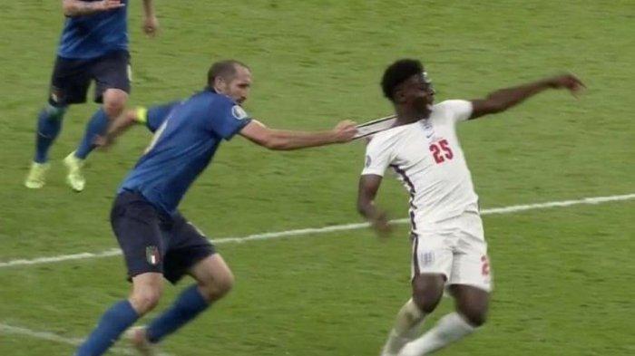 Terbongkar, Ada Mantra yang Diucapkan Giorgio Chiellini Sebelum Bukayo Saka Tendang Penalti