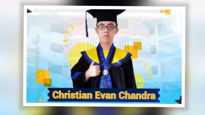 Sosok Christian Evan  Chandra Dinobatkan sebagai Lulusan Terbaik UI Atas Prestasi Akademik
