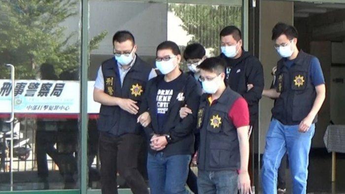 Si raja judi Chuang Chou-wen diciduk kepolisian Taiwan (apple daily)