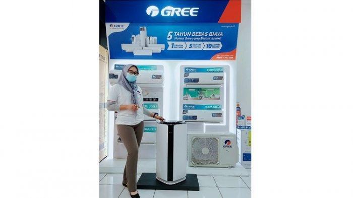 Corona Prevent Air Purifier, Teknologi Membunuh Bakteri dan Virus dari Gree
