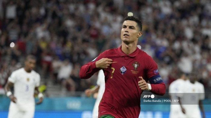 AKHIRNYA Cristiano Ronaldo Samai Rekor Ali Daei, tapi CR7 Butuh 77 Gol Lagi Kalahkan Christine
