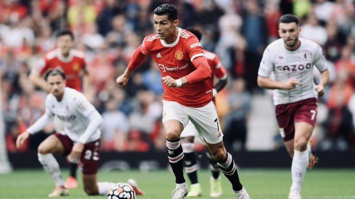 Legenda Inggris Komplain, Cristiano Ronaldo Terpilih Pemain Terbaik Liga Inggris Edisi September