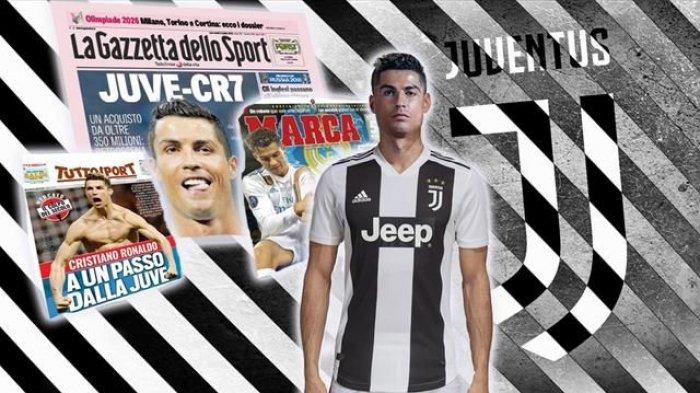 Cristiano Ronaldo Dikabarkan Sudah Teken Kontrak dengan Juventus, Tes Medis di Munich