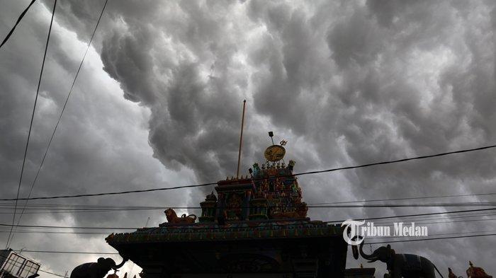 Hari Ini Sejumlah Daerah di Sumut Berpotensi Dilanda Cuaca Buruk, Berikut Daftar Wilayahnya