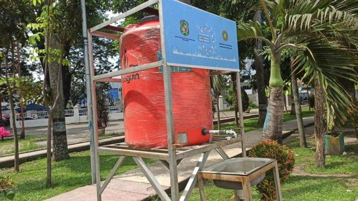 Pengunjung Keluhkan Fasilitas Cuci Tangan Tidak Memadai di Lapangan Merdeka Medan