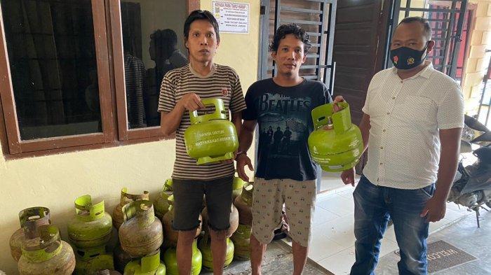Curi 27 Tabung Gas, Dua Warga Asahan Ditangkap Polsek Kota Kisaran