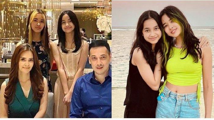 Akrab Meski Tak Ada Hubungan Sedarah, Intip Potret Putri Cut Tari dan Putri Richard Kevin