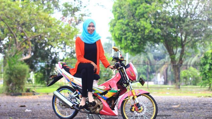 Modifikasi Sepeda Motor Ini Terinsipirasi Dari Kartun Boboiboy Tribun Medan