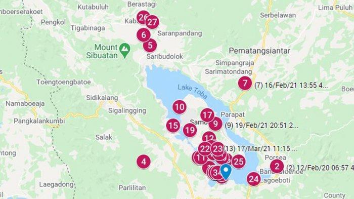 INILAH Penyebab Gempa di Samosir, Ada Patahan di Bawah Danau Toba yang Bergerak