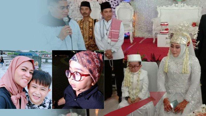 Yunita dan Ichal (kiri) dan Pernikahan keempat Daus Mini (kanan)