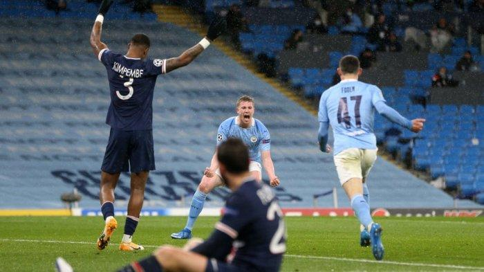 Manchester City pertama kali lolos ke final Liga Champions