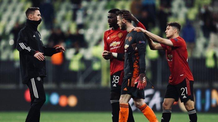 UPDATE Hasil Final Liga Europa - Solskjaer Bela De Gea Soal Kegagalan Ambil Penalti