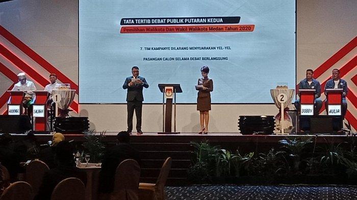 Buka Debat Kandidat Putaran Kedua, Bobby-Aulia Sebut akan Buat Sentralisasi Etnis untuk Pariwisata