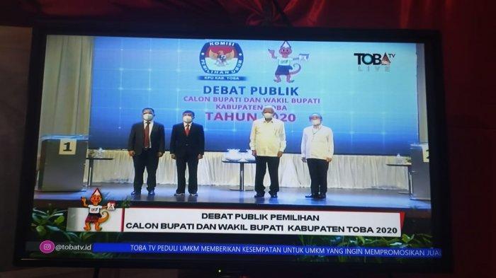 Debat Pilkada Toba, Paslon Diingatkan Tidak Menyerang Secara Personal
