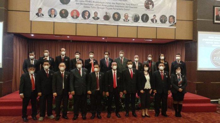 Dideklarasikan 21 Pendiri, PPHRI Janji Ikut Kembangkan Potensi Pariwisata Sumut