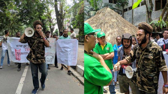BREAKING NEWS Mahasiswa Papua di Kota Medan Gelar Aksi Keprihatinan