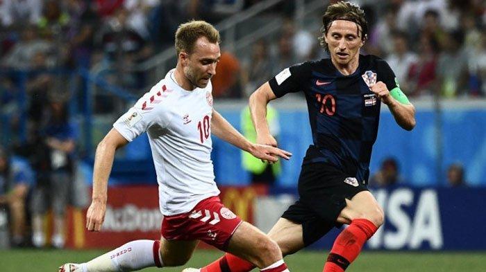 Duel Alot, Kroasia Kandaskan Perjuangan Denmark lewat Drama Adu Penalti, Bersiap Hadapi Rusia