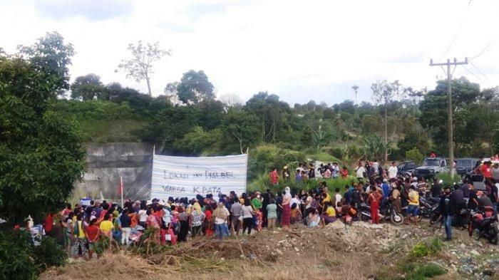 Warga Desa Kandibata Kabanjahe Tutup Paksa Aktivitas Proyek Pembangkit Listrik