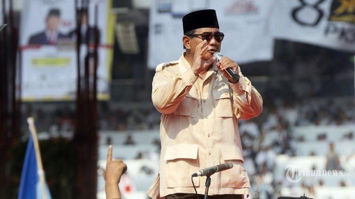 Tantangan Sasar Prabowo untuk Buka Data Hasil Exit Poll dan Real Count Kubu Pasangan Prabowo-Sandi